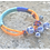 Thumbnail: MAASAI  hand bracelet with blue agat