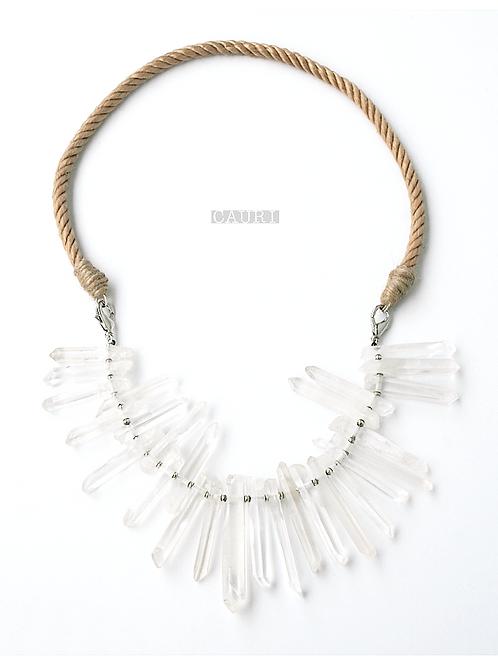 RHINESTONE MAGIC necklace-bracelet