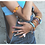 Thumbnail: MAASAI  feet/shoulder bracelet