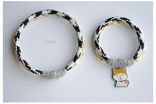 "Same bracelets set 4 mom & daughter ""LIL KITTY"""