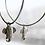 Thumbnail: Ring earrings with elephants