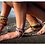 Thumbnail: TRIBE Rasta Bracelets set with shells