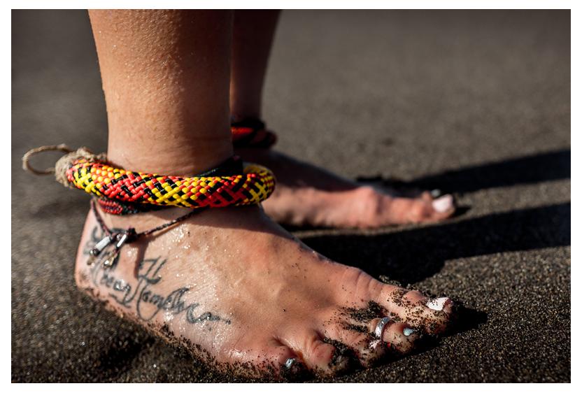 TRIBE feet bracelet