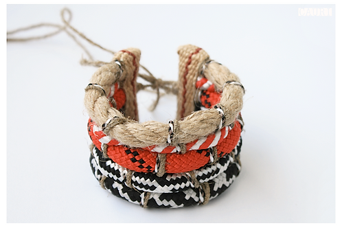 MAASAI Rope Feet/Shoulder/ Hand bracelet