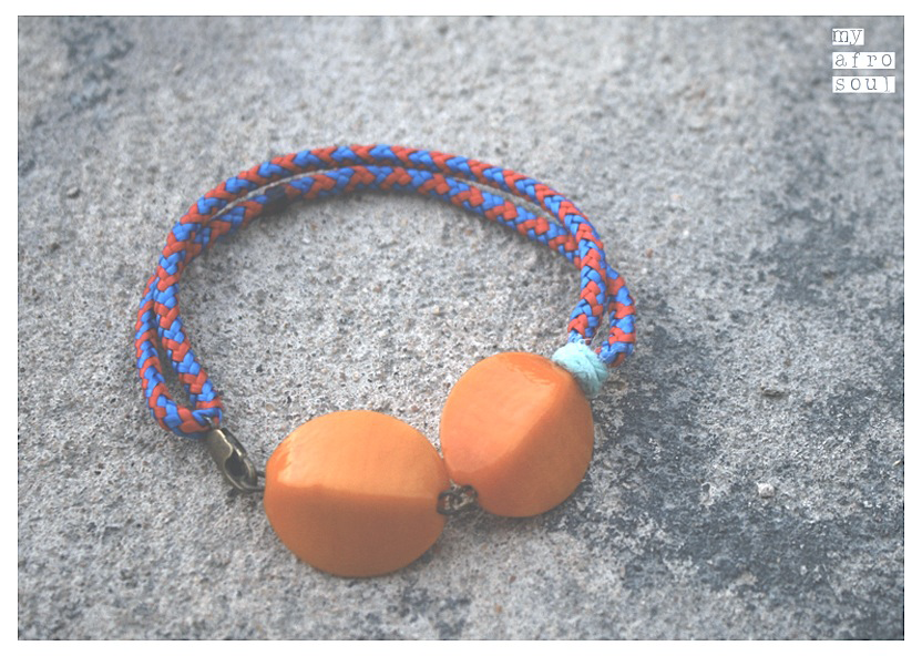 MAASAI feet/shoulder bracelet