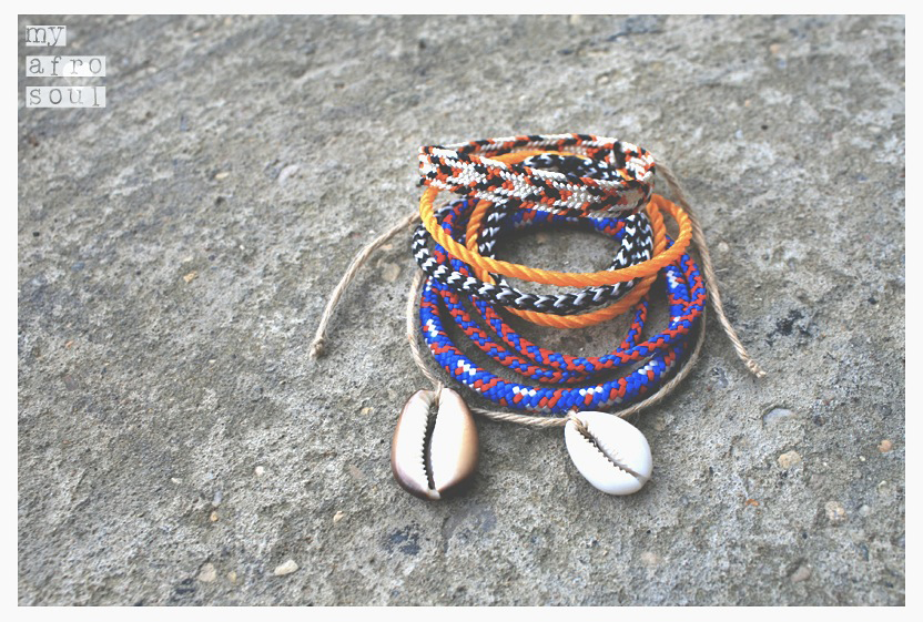MAASAI bracelets set
