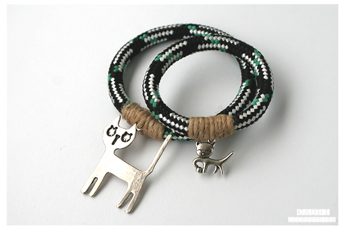 CATS Bracelets set for Mom & Daughter