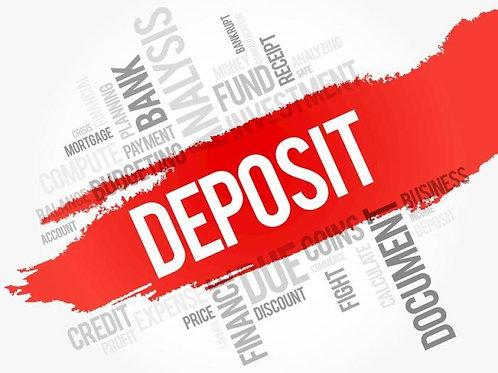 Initial Deposit w/ Housing