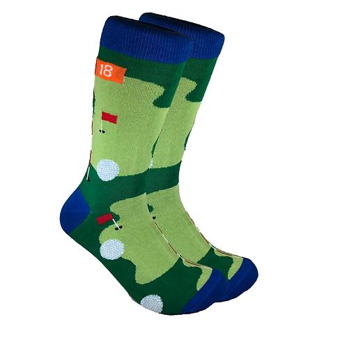 Socks - Golf Green