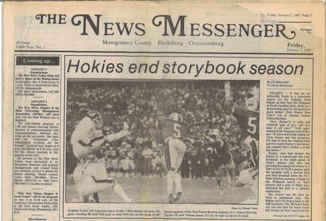 1986 Peach Bowl Victory
