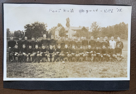 1915 Football Image from a Scrapbook