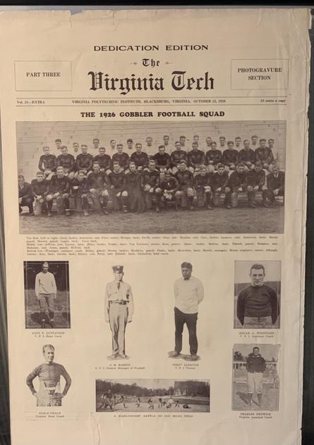1926 Newspaper