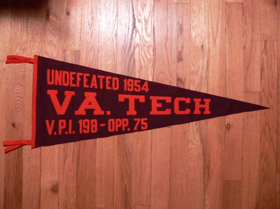 1954 VPI pennant