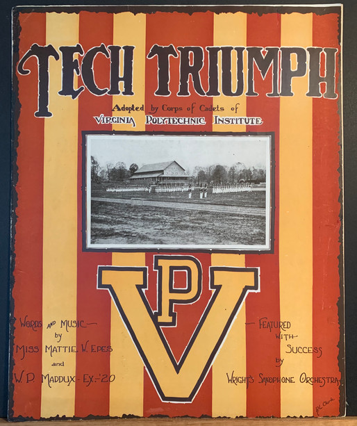 1919 Tech Triumph Sheet Music