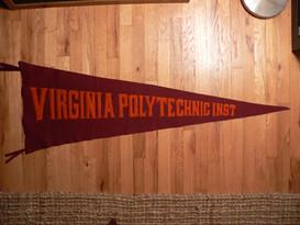 Virginia Polytechnic Pennant