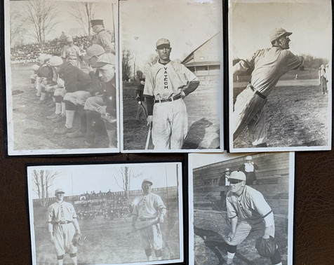 1915 Baseball Images from a Scrapbook