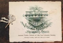 1892 VAMC Debate Program