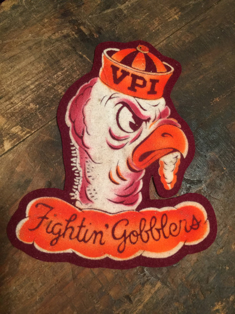 "7.5"" tall VPI Gobblers Patch"