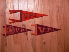 Vintage VPI pennants
