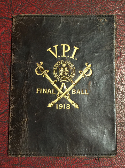 1913 Final Ball Dance Card