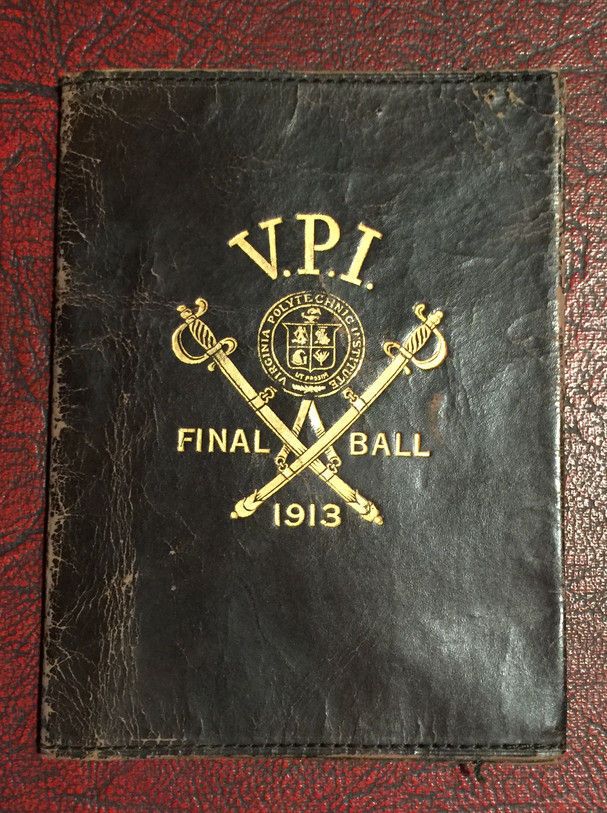 1913 Final Ball Dance Card