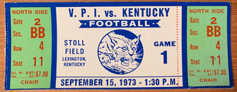 1973 vs Kentucky