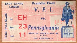 1955 vs Pennsylvania