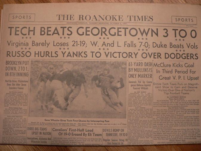 1941 Roanoke Times