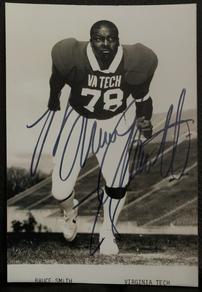 Bruce Smith signed photo