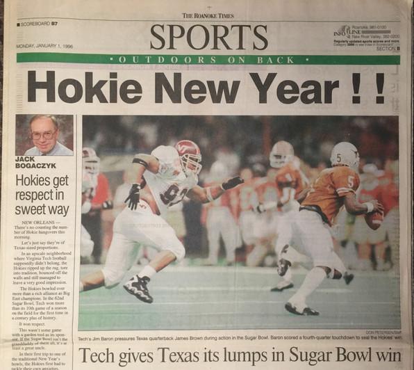 1995 Sugar Bowl Victory