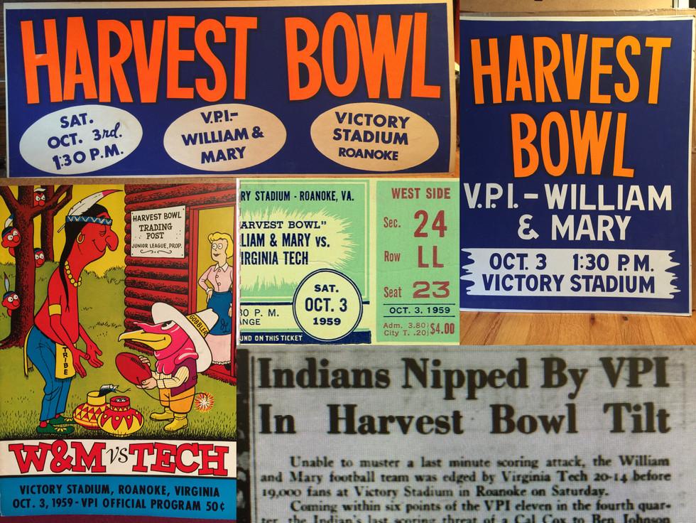 1959 Harvest Bowl Victory