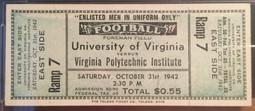 1942 vs UVA
