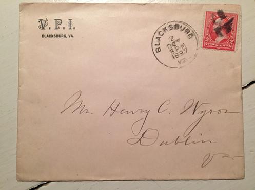 1897 VPI Envelope