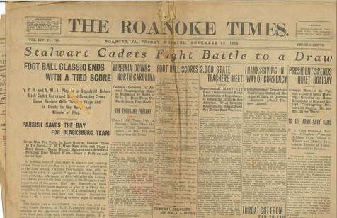 1913 Roanoke Times