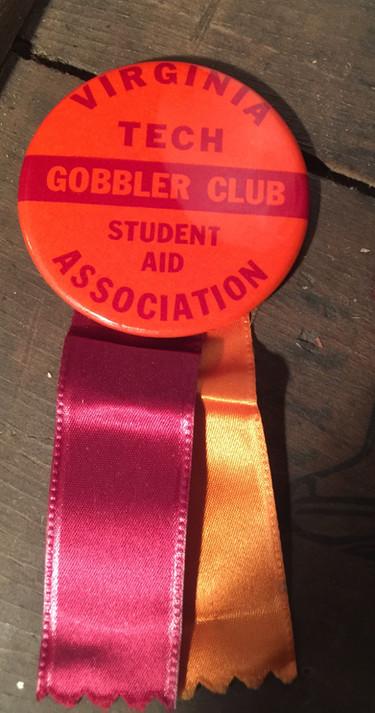 Gobbler Club pinback