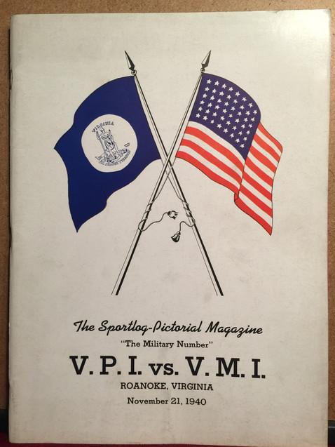 Antique Virginia Tech football program