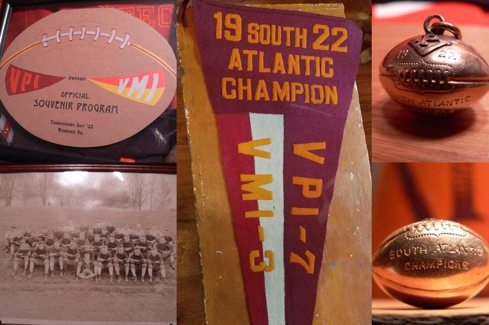 1922 South Atlantic Champions