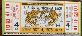 1975 vs Auburn