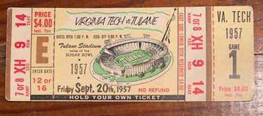1957 vs Tulane