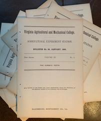 1894 VAMC Bulletins