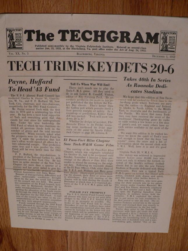 1942 TechGram VPI/VMI