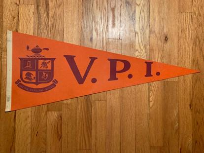 Vintage VPI pennant