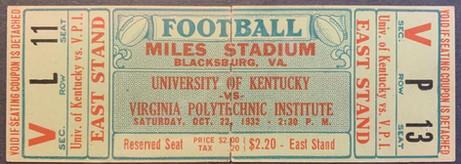 1932 vs Kentucky