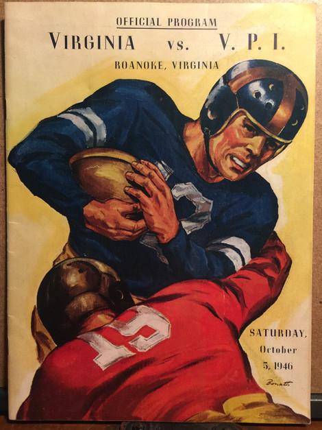 Vintage VPI football program