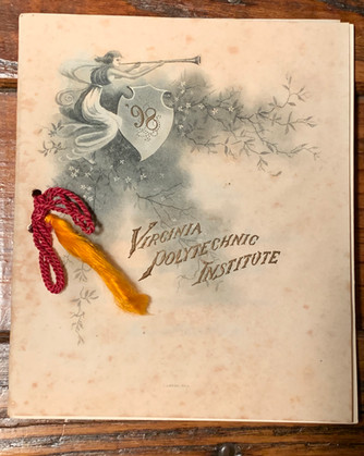 1898 Graduation Program