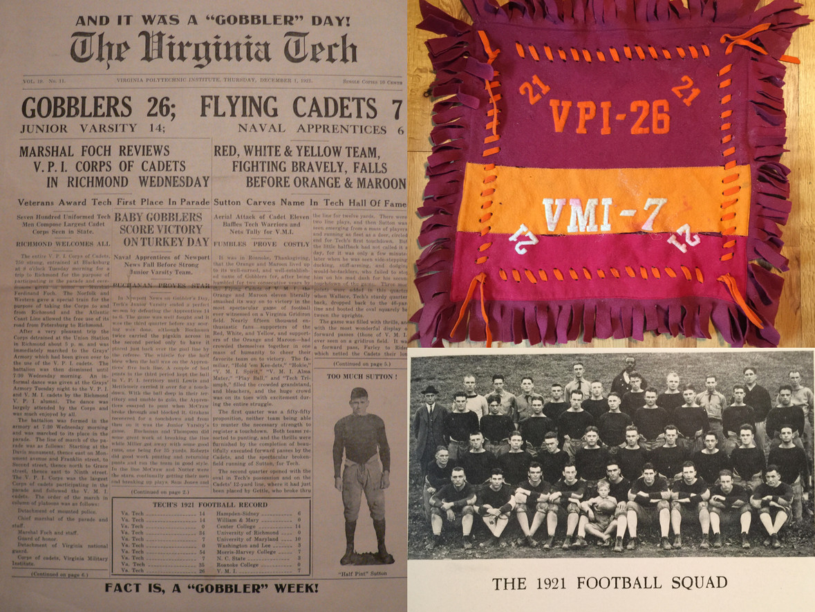 1921 Victory over VMI