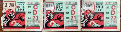 1941 vs Georgetown