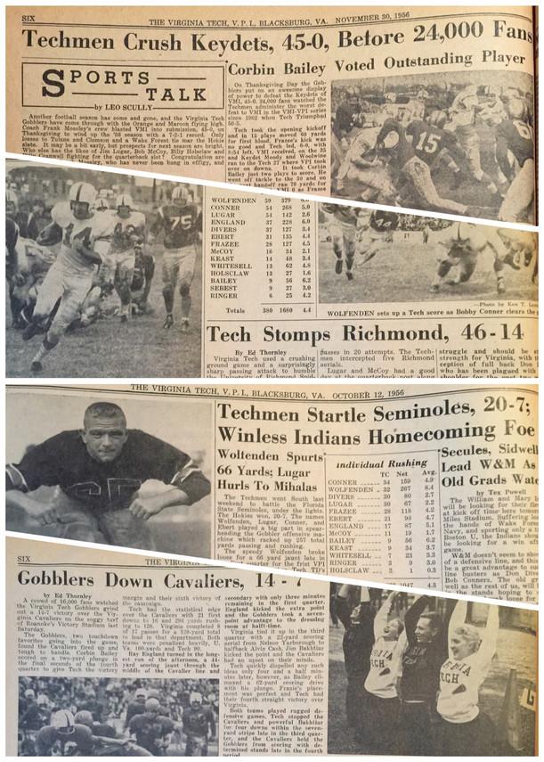 1956 Headlines