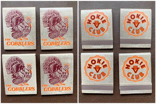Gobbler Matchbooks