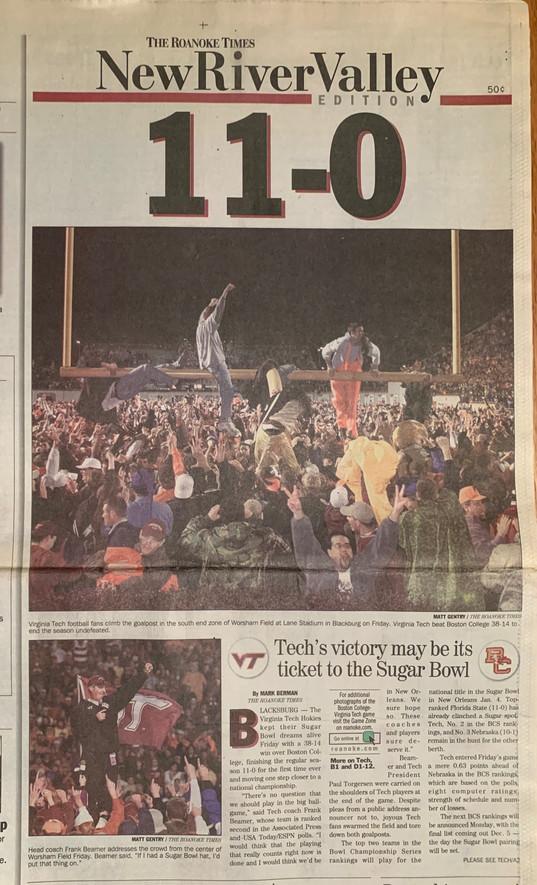 1999 Roanoke Times